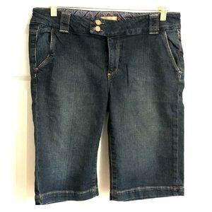 Paige denim Bermuda shorts